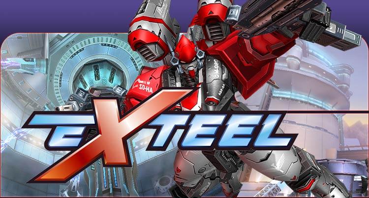 exteel mmorpg gratuit jeu en ligne jeux logo